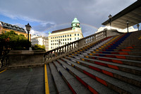 Vienna, rainbow after the storm
