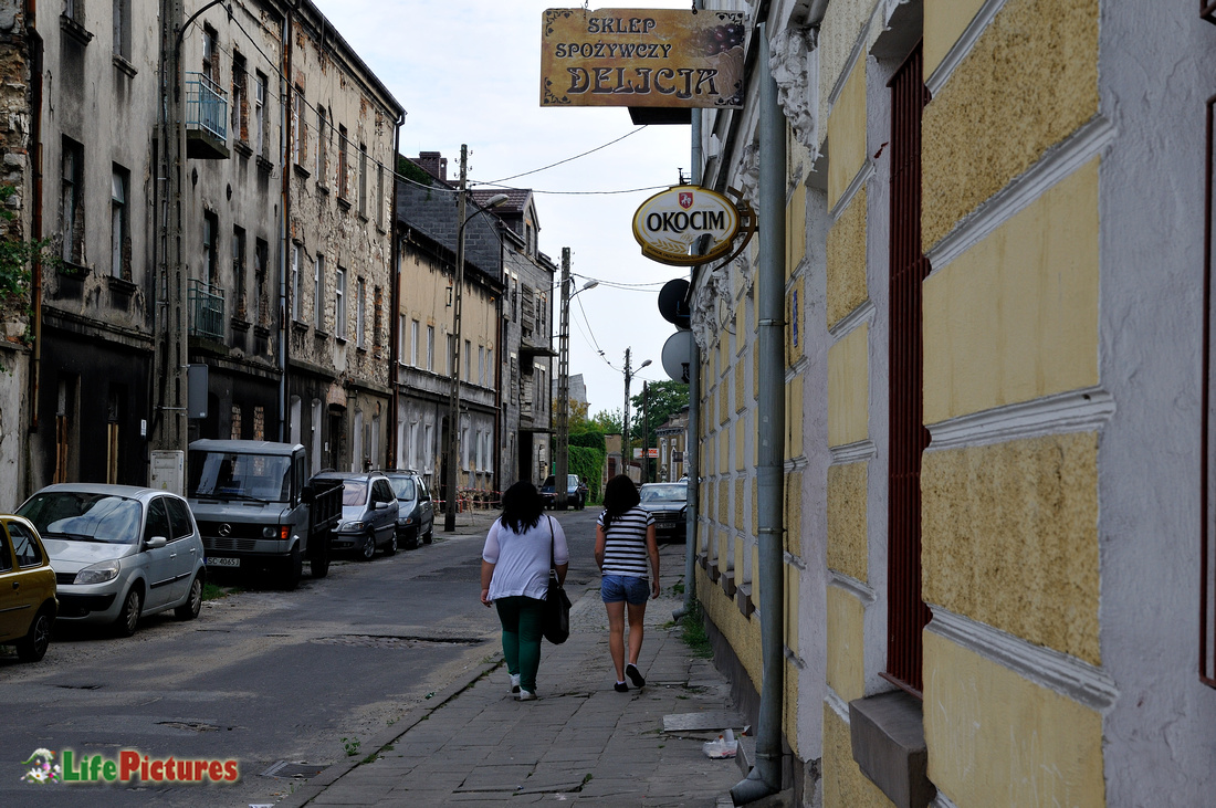 Chestokowa, the old city