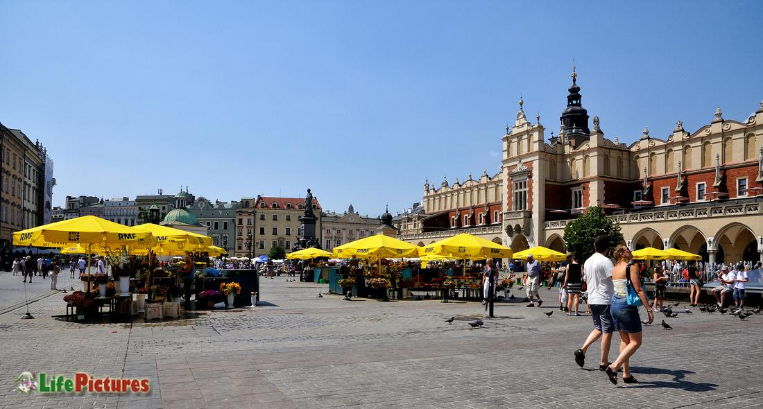 The beautiful Rynek