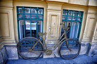 New old bike in Budapest