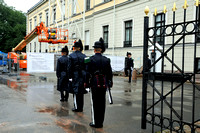 Royal palace, change of the guard