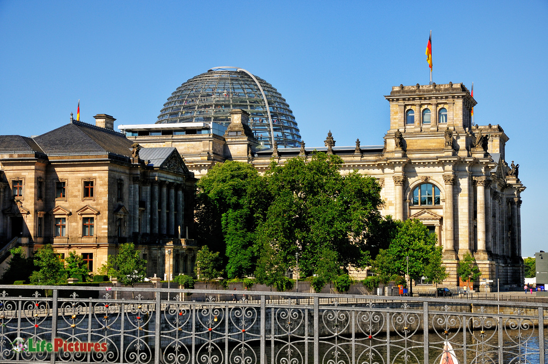 The German Parliament (Reichstag)
